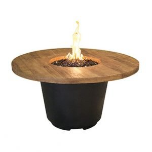 American Fyre Designs French Barrell Oak Cosmo Round