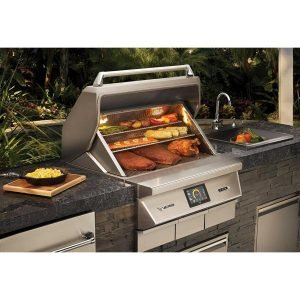 "Twin Eagles 36"" Wood Fired Pellet Grill & Smoker"